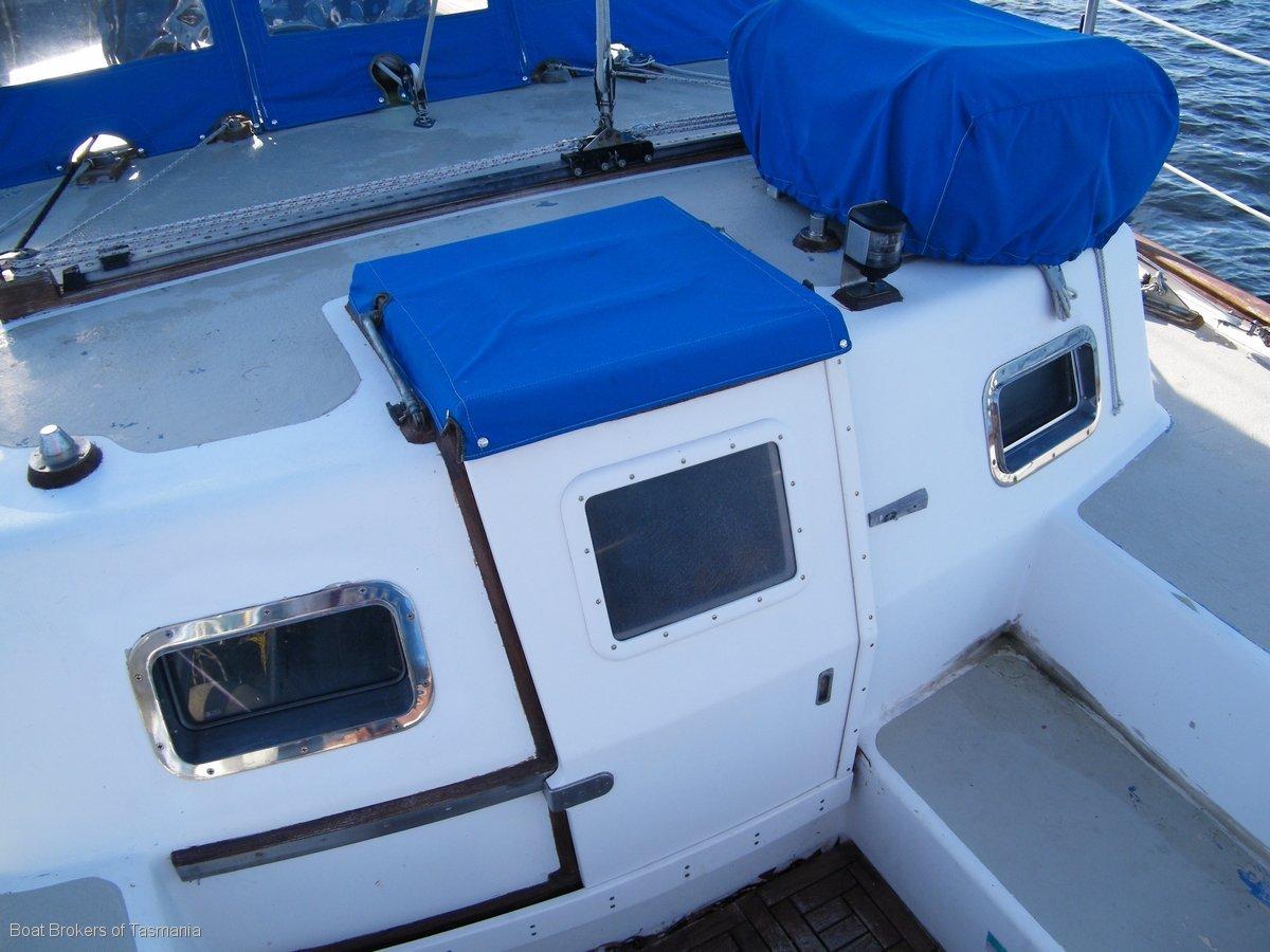Tauremka Aleutian 51 Aft Cabin Cruising Yacht Boat Brokers of Tasmania