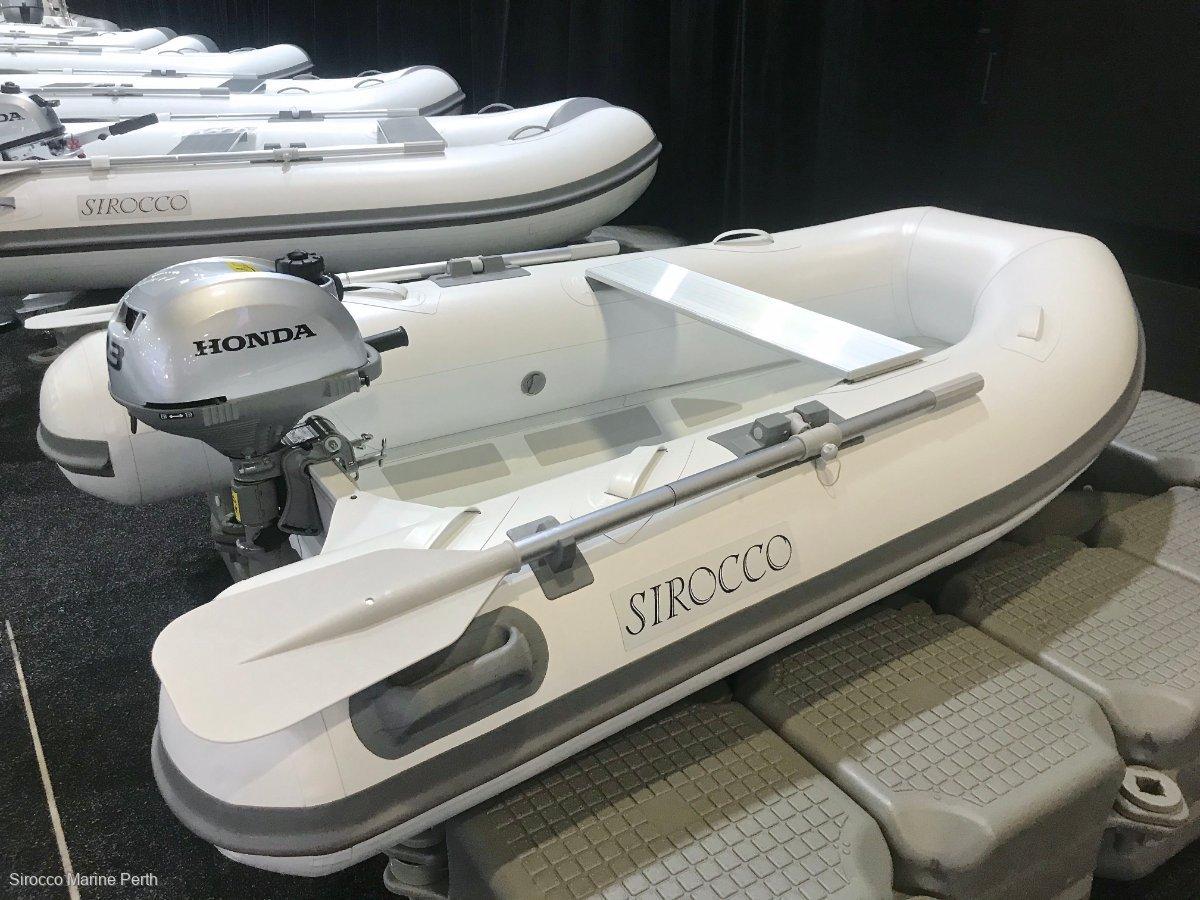 Sirocco Rib-Alloy 270 2.7m Aluminium / Hypalon Inflatable Tender RIB