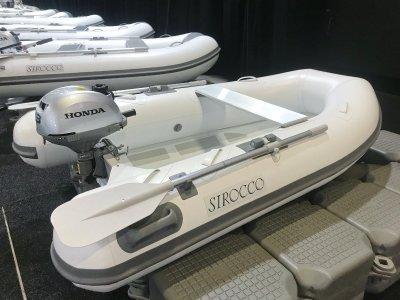 Sirocco Rib-Alloy 270 2.7 Aluminium Inflatable Tender RIB