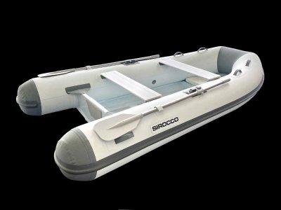 Sirocco Rib-Alloy 310 3.1 Aluminium Inflatable Tender RIB