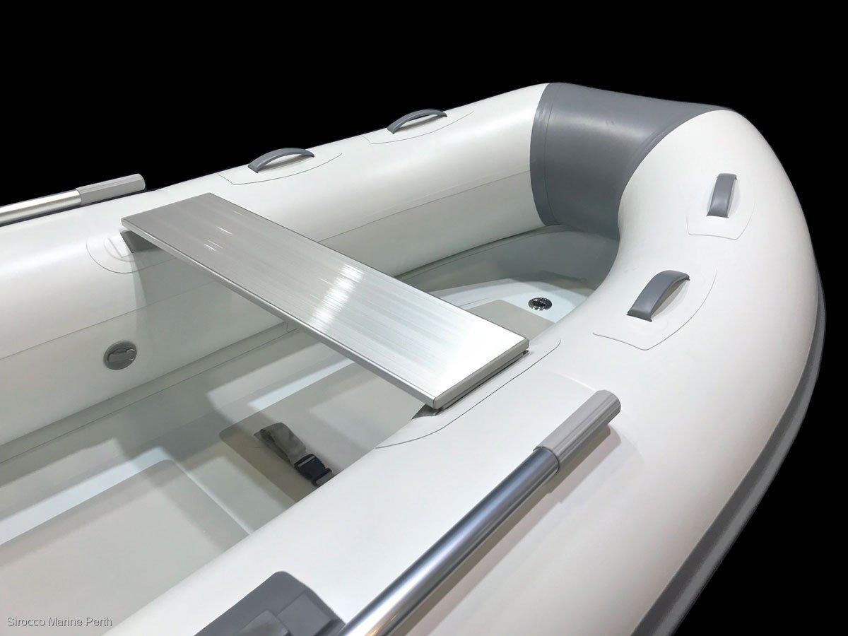 Sirocco Rib-Alloy 310 3.1m Aluminium / Hypalon Inflatable Tender RIB