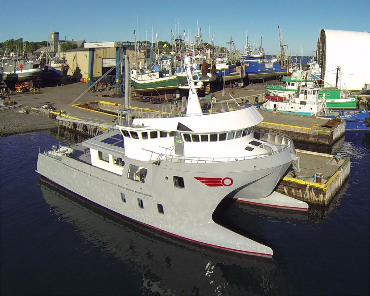 Ocean Voyager Expedition Wavepiercer 90