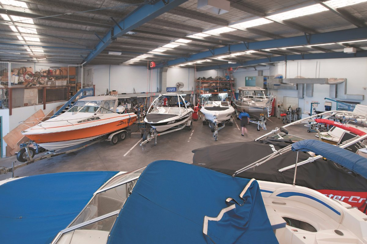 Boat & Marine Servicing + Trailers + Installations - Brisbane