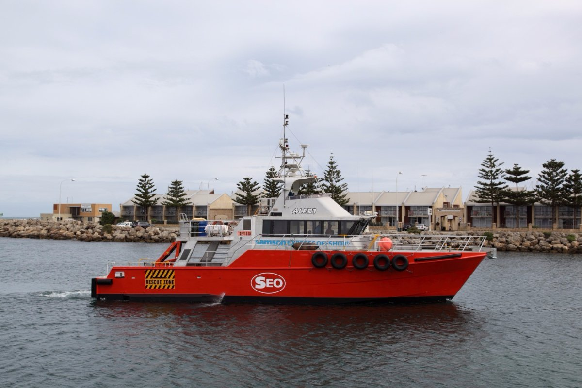 Custom Offshore Patrol Vessel / Crew Transfer / Su