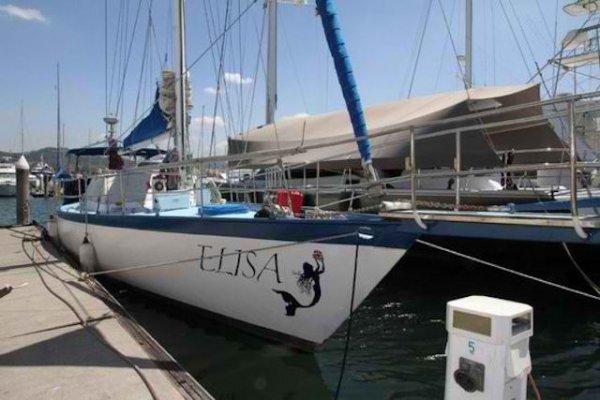 Adams 16m Steel Cruising Yacht