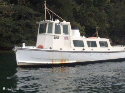 Custom Timber Workboat 2 D survey