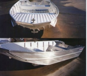 Aquamaster 4.10 V Nose Barra (Hull Only)