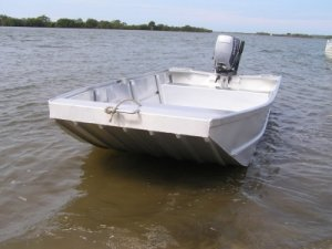New Aquamaster 3.0 Flat Bottom Punt (hull Only): Power Boats | Boats Online for Sale | Aluminium ...