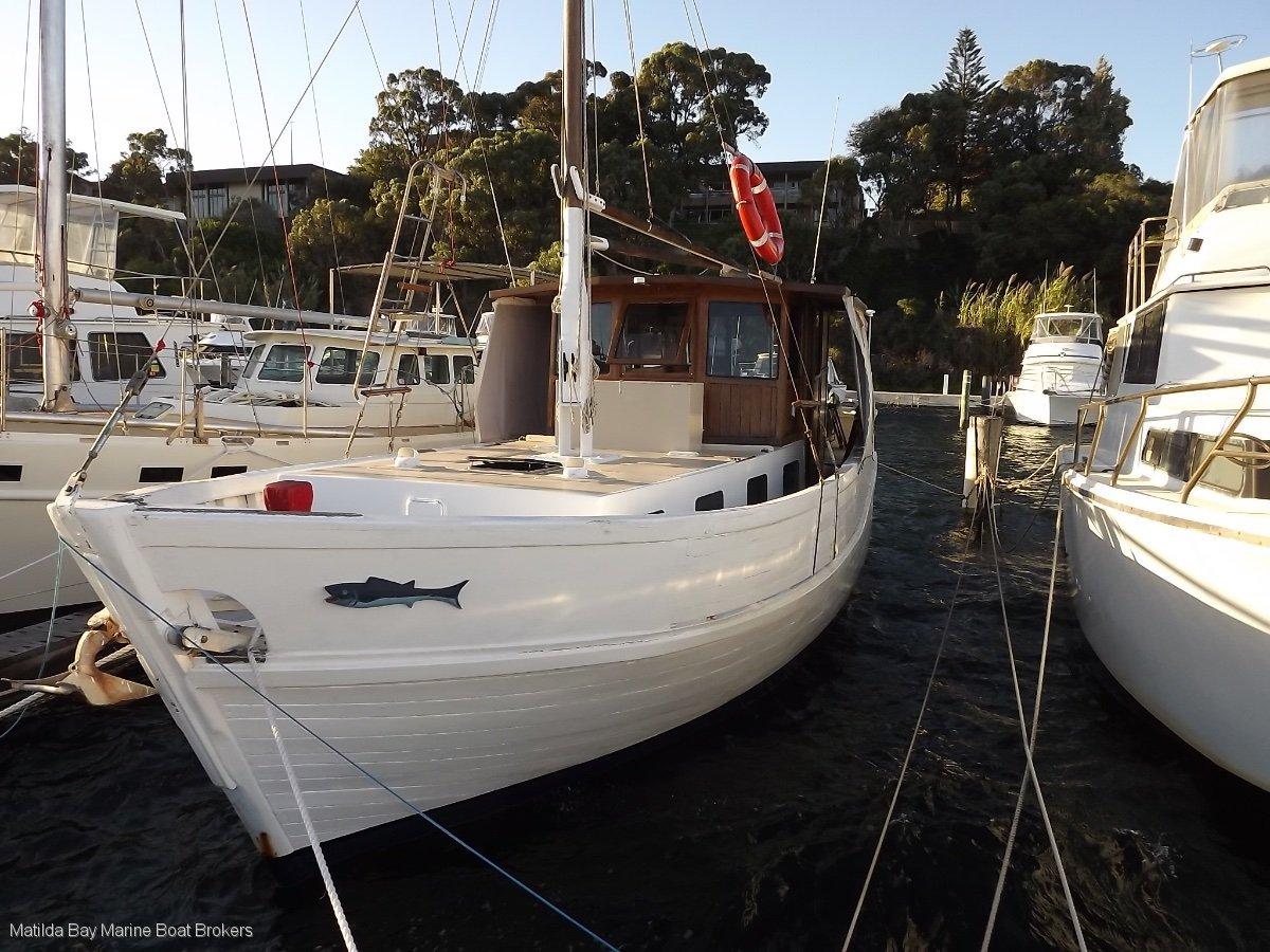 Marko Sambrailo Converted Ex Cray Boat