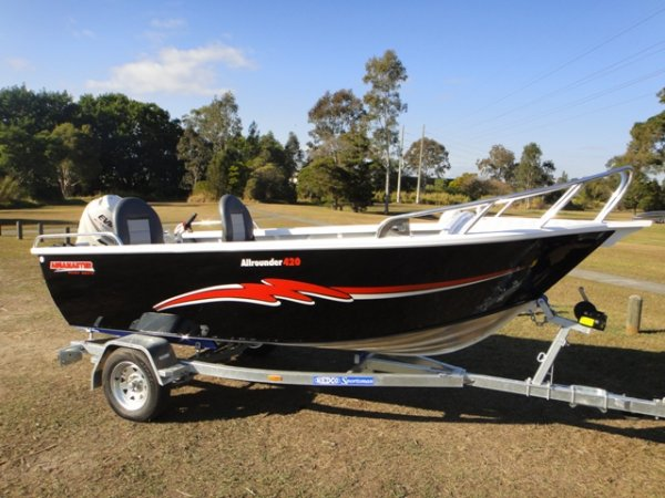 Aquamaster 4.20 Allrounder Side Console