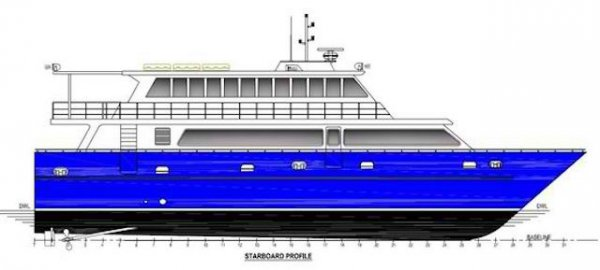 25m 160 Pax Passenger Vessel