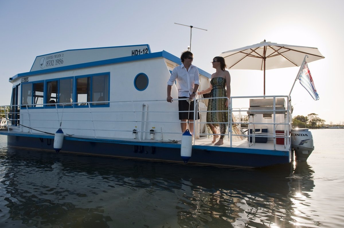 The unique River Wren riverboats