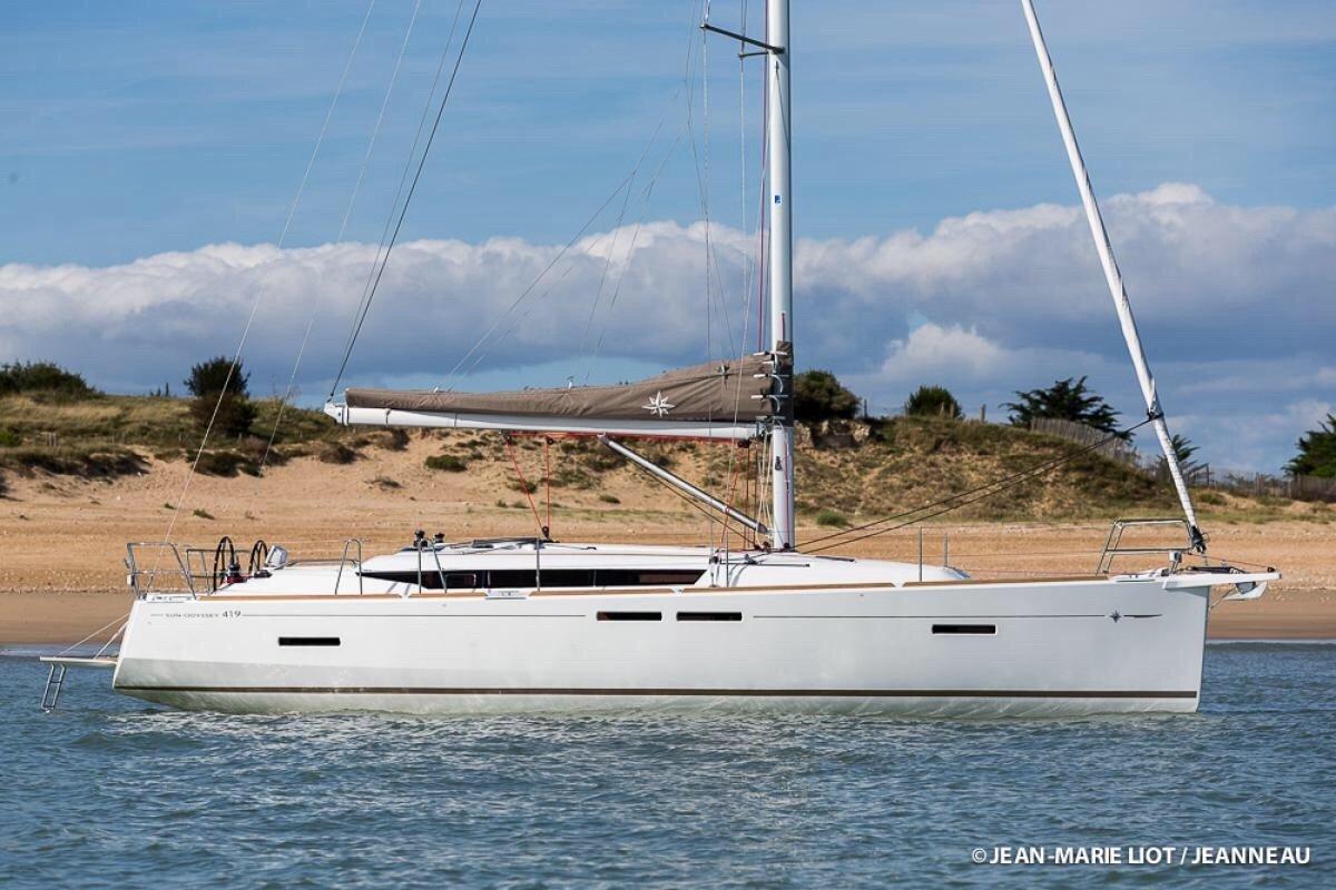Jeanneau Sun Odyssey 419 1/4 Share 2017 Model