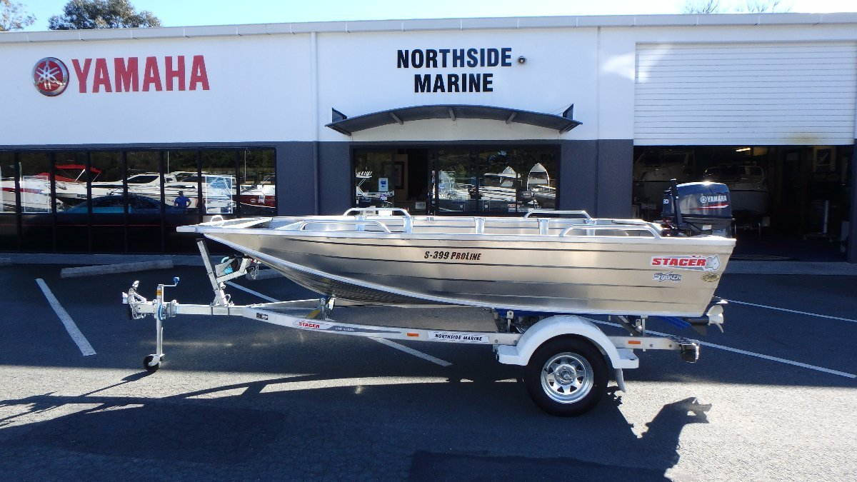 New stacer 399 proline striker yamaha 30hp 2 stroke for Yamaha 30hp 2 stroke