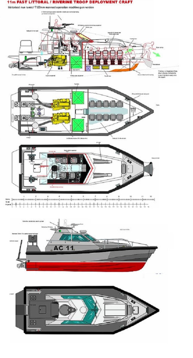 Safehaven 11m Riverine Barracuda
