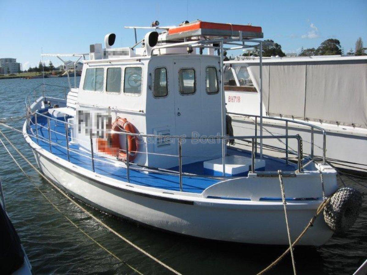 Custom 10.6m Ex-Pilot Vessel