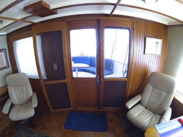 Kadey Krogen 54 Long Range Trawler Yacht