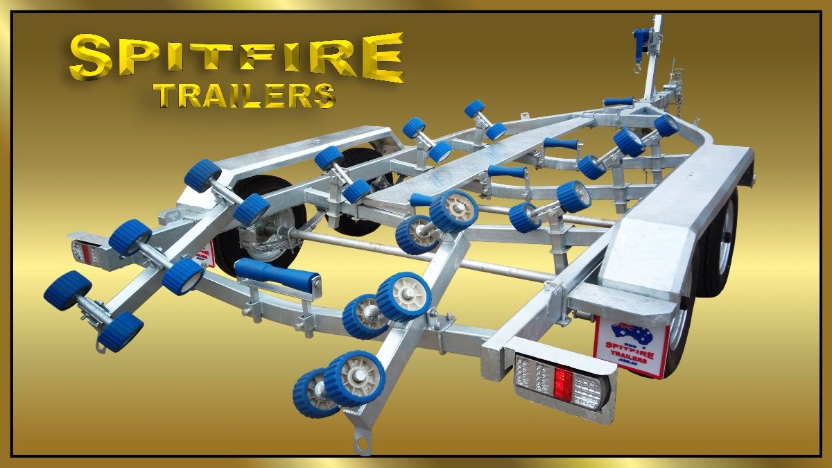 Boat Trailer Tandem Axle 6 metre from Spitfire Trailers for sale:6 metre tandem