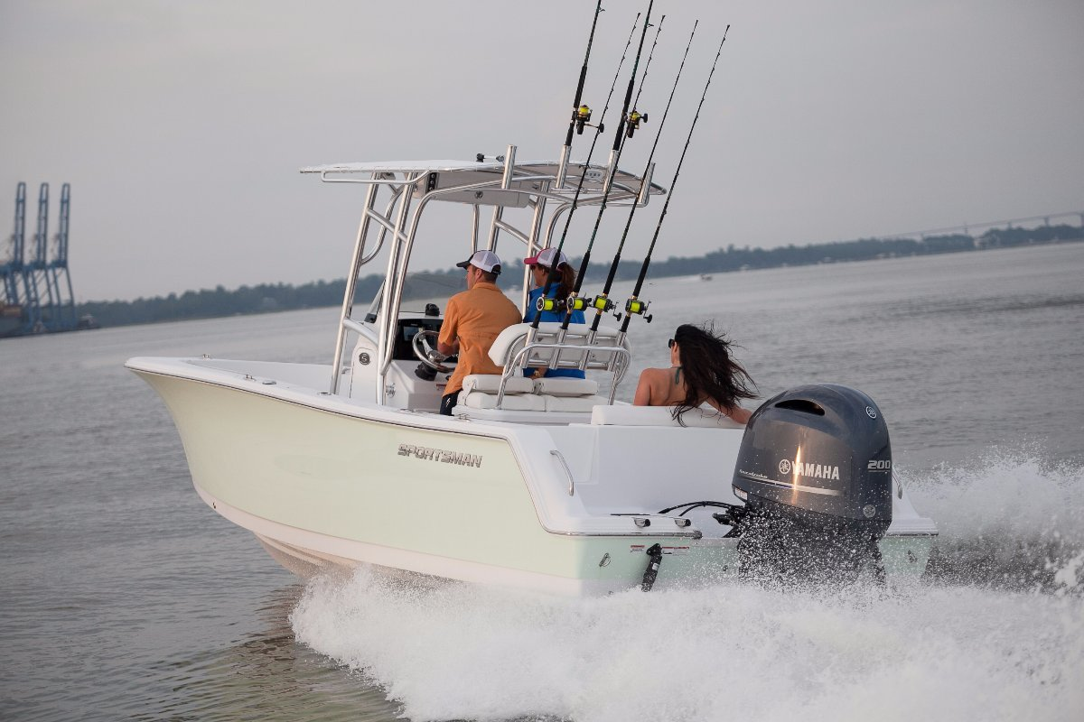 Sportsman Open 232 Centre Console PRICING WITH ALL STANDARD INCLUSIONS ONLY