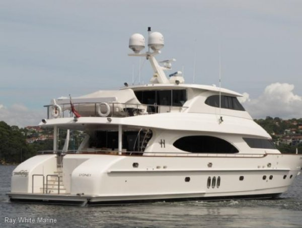 Used hargrave 90 motor yacht for sale boats for sale for Boat motors for sale in arkansas