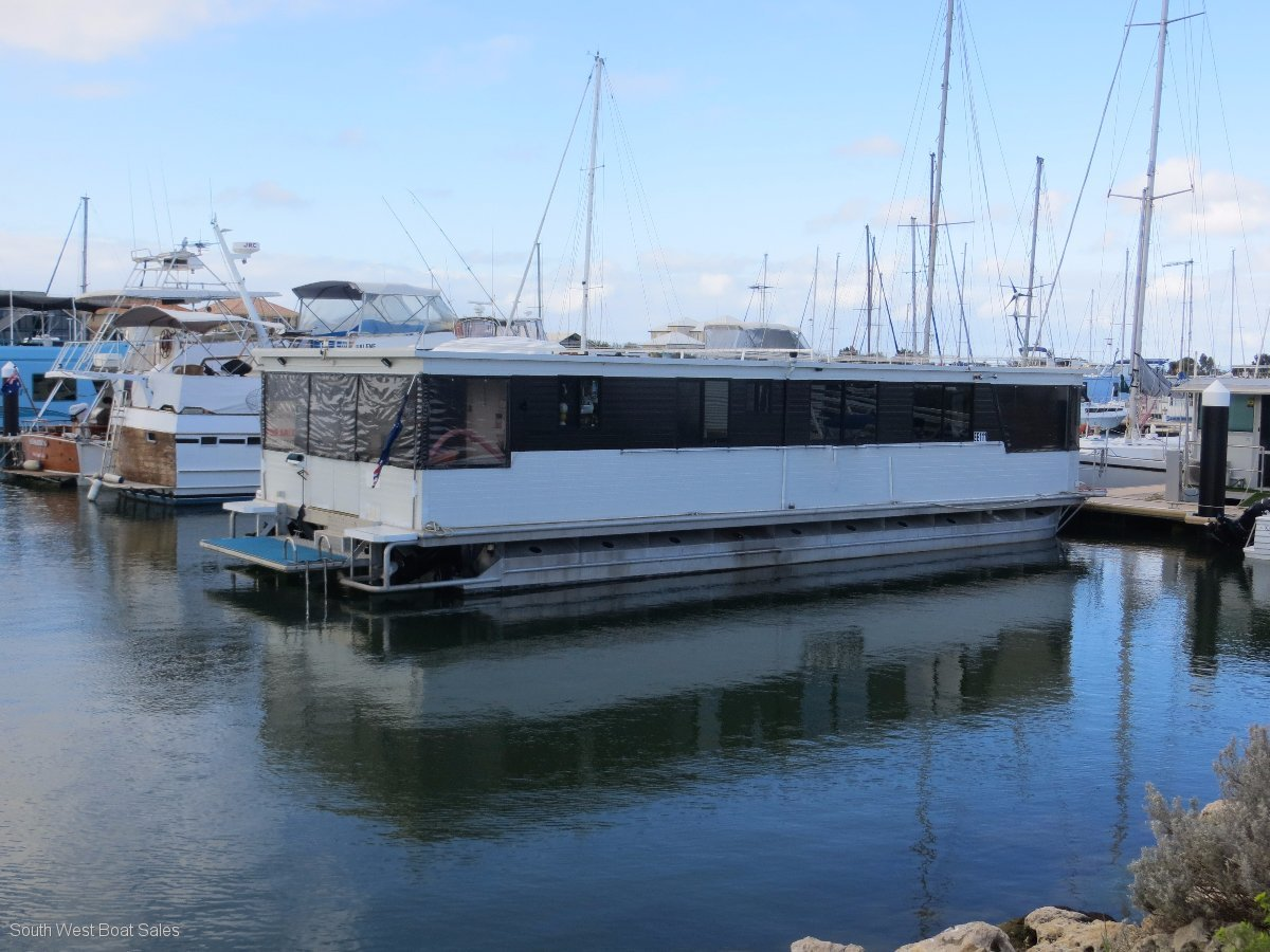 52FT Aluminium Penthouse Houseboat
