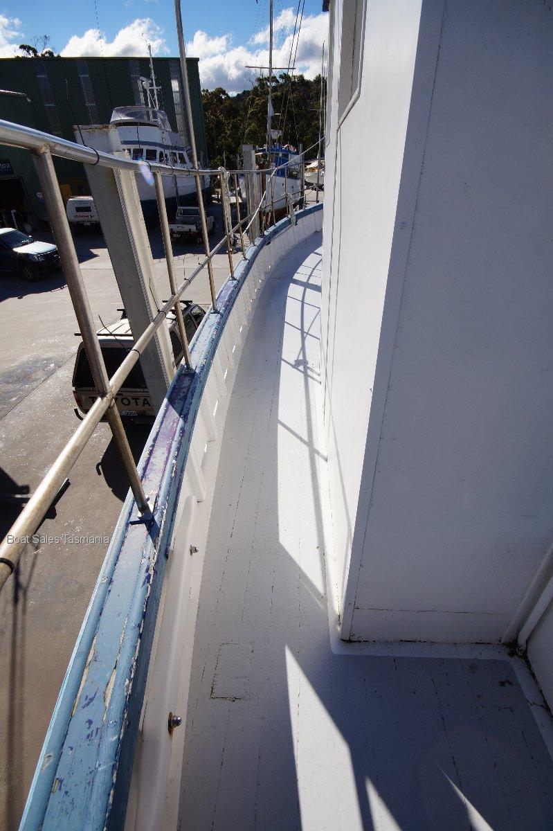 "Max Robbins Timber Cray Boat ""Otway Pioneer"""