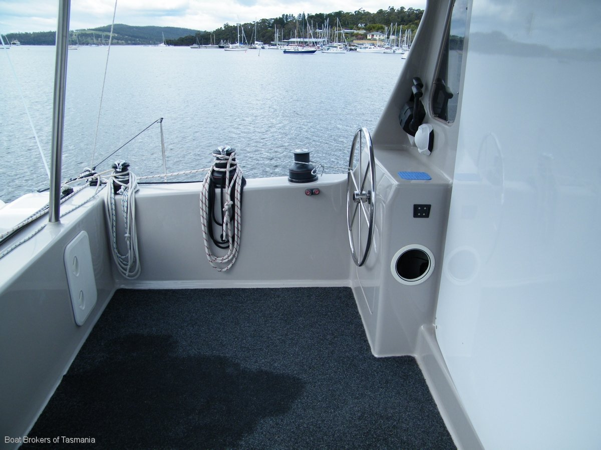 Vivarina Chamberlin 12m Catamaran Boat Brokers of Tasmania