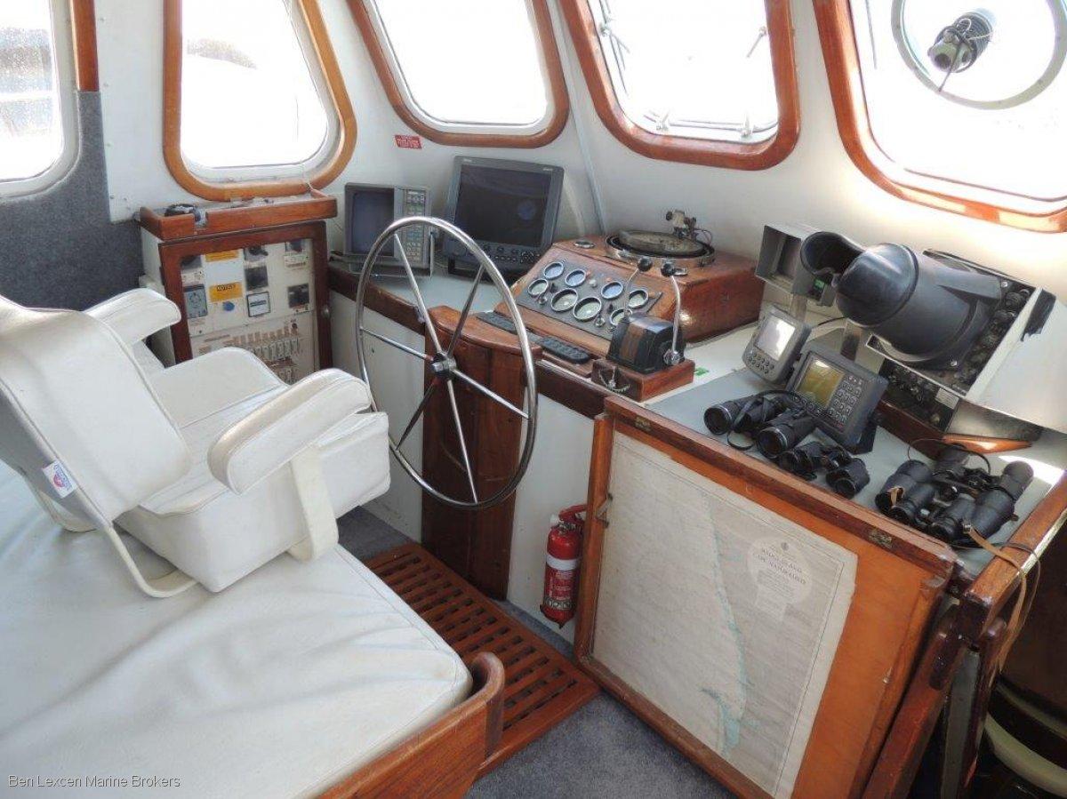John Pugh 60 Ketch -SMALL SAILING EXPEDITION SHIP - CHARTER BUSINESS-