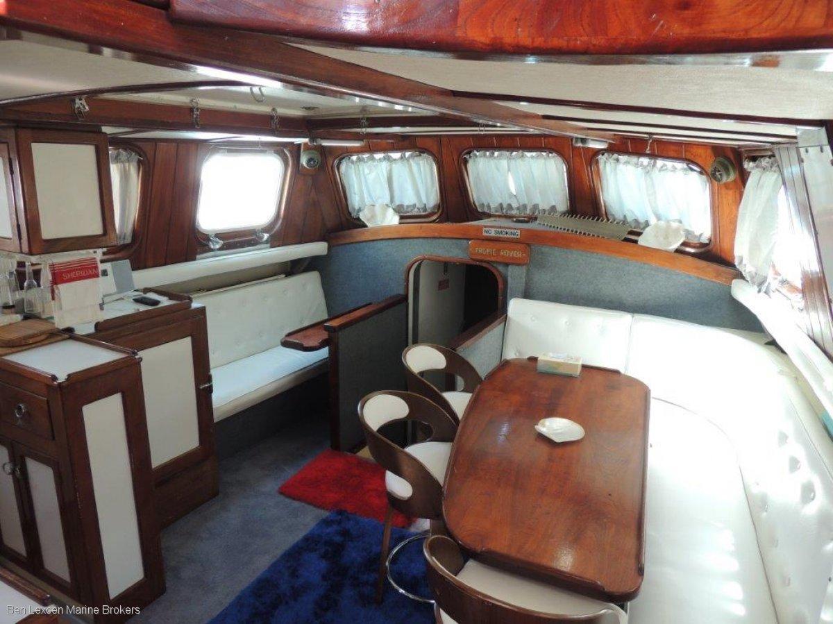 John Pugh 60 Ketch -SMALL SAILING EXPEDITION SHIP - CHARTER BUSINESS