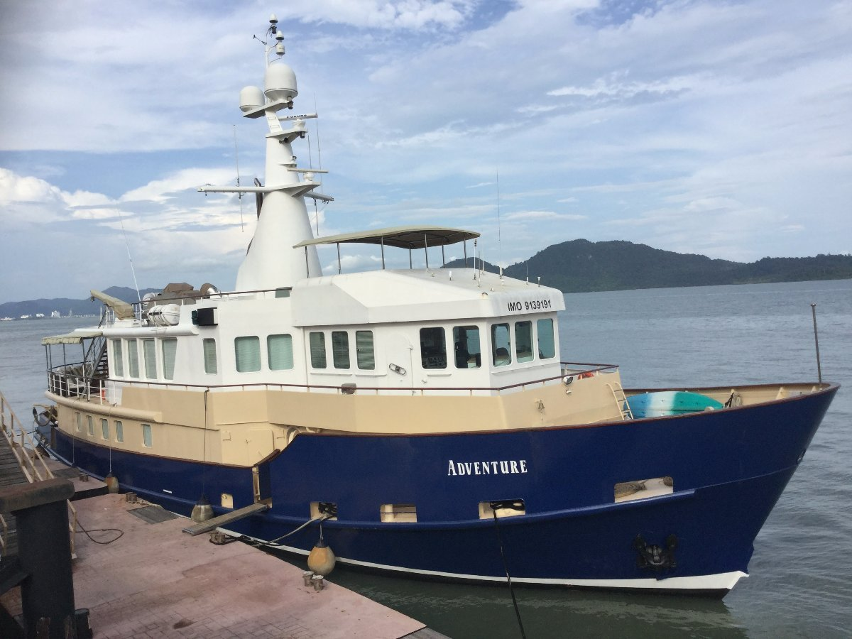 Custom Expedition Motor Yacht:Geoff Lovett International_Adventure