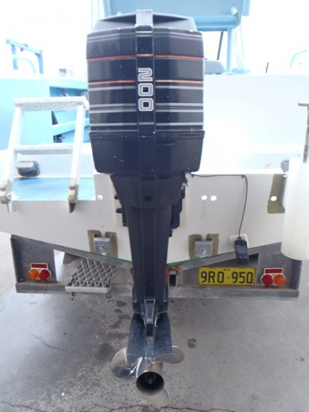 200hp MERCURY OUTBOARD X/L