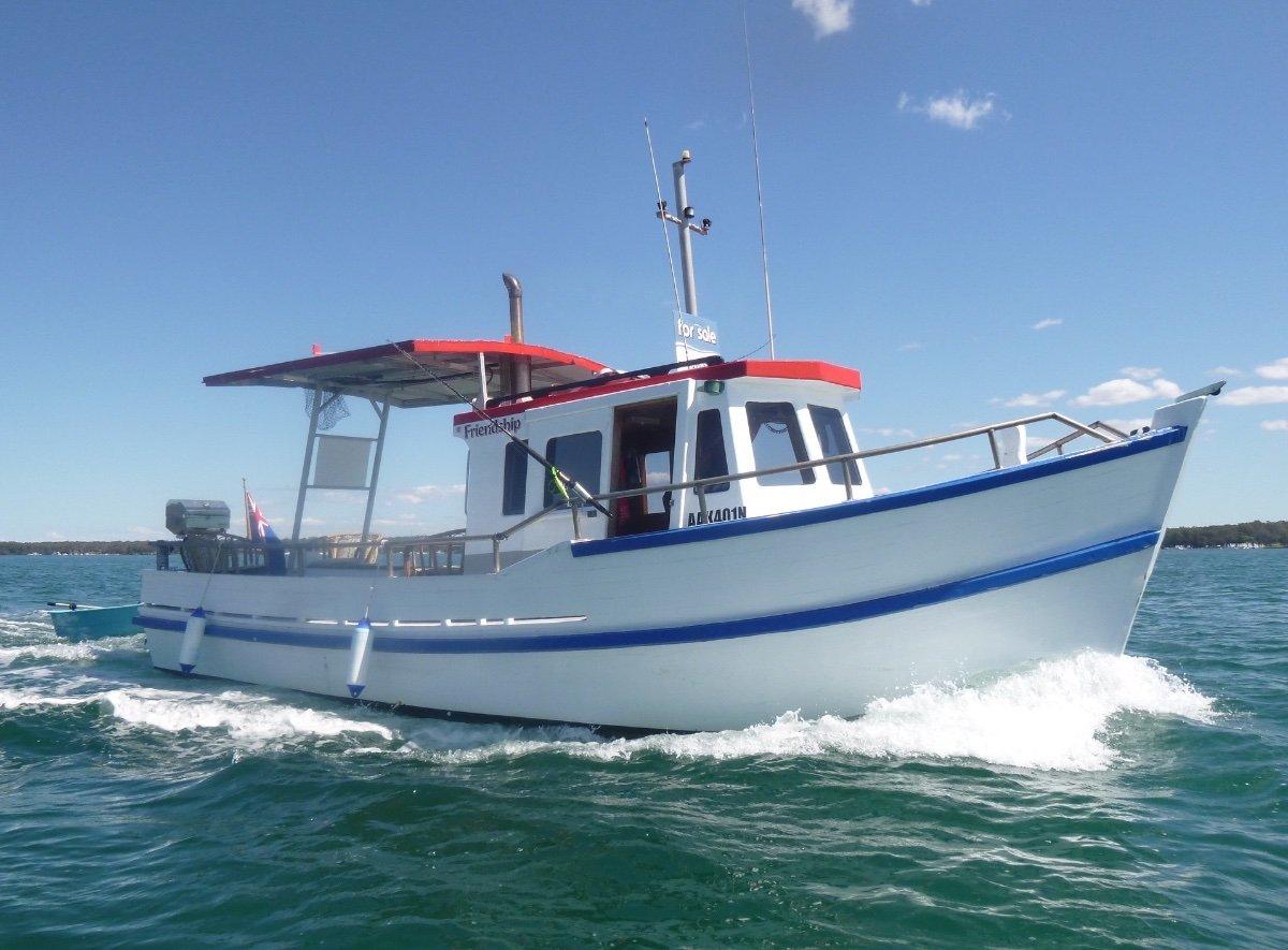 Reg Hyde 29 Trawler