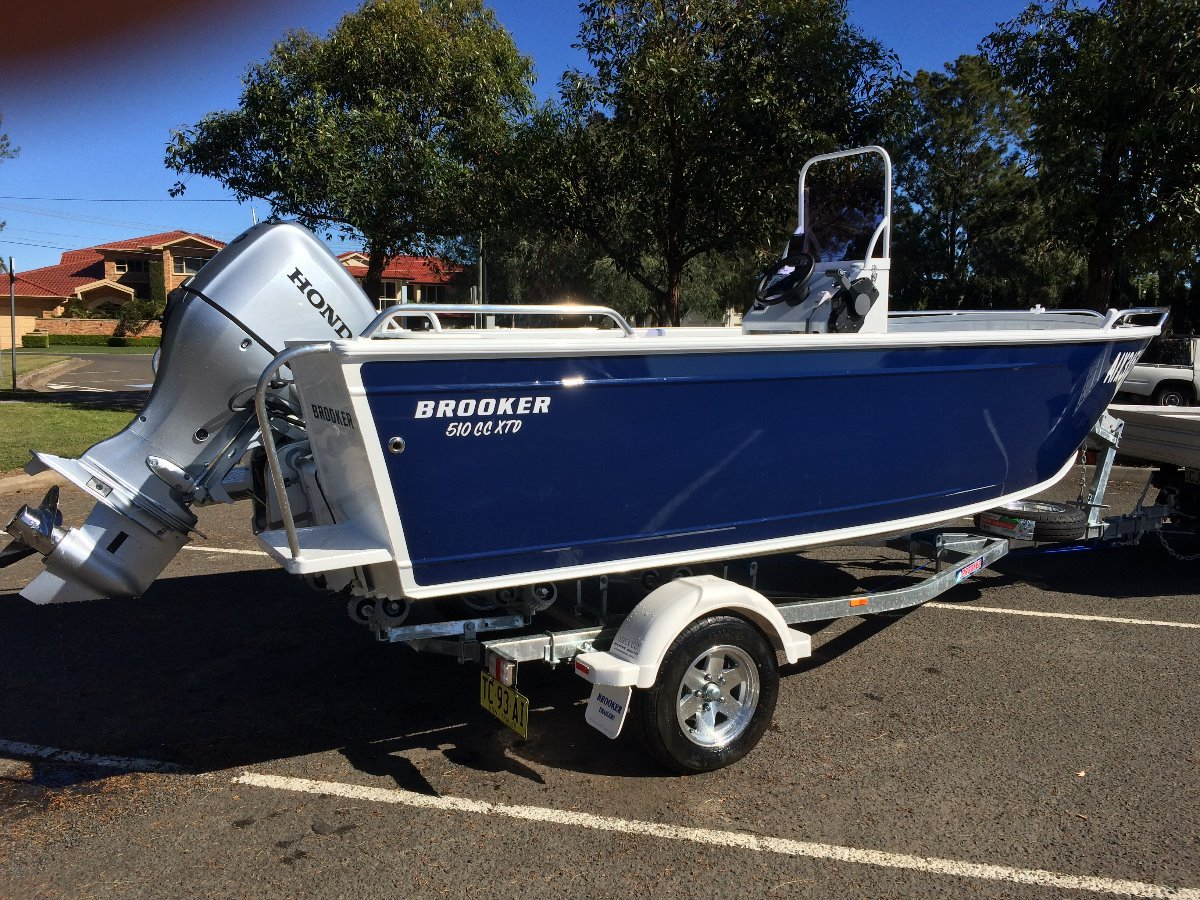 Brooker 510 Cc Xtd Brooker 510 Centre Console XTD