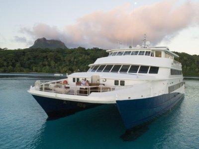 36m Catamaran Cruise