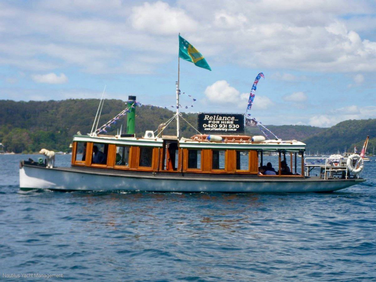 Hawkesbury River Ferry in commercial Survey 1E