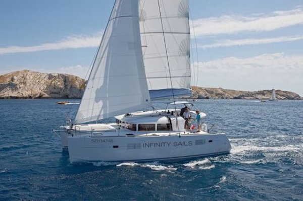 Singapore Charter Business with Sailing Catamaran