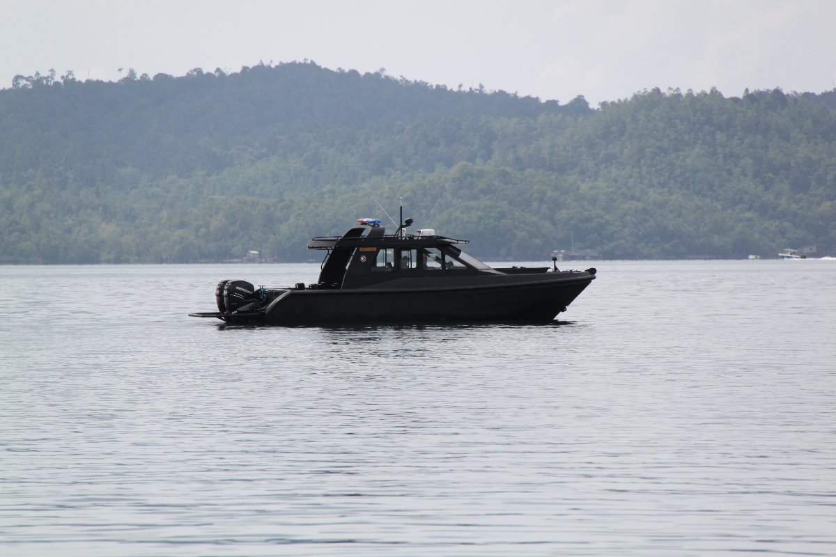 Saltwater Commercial Boats 11.5 Interceptor Patrol