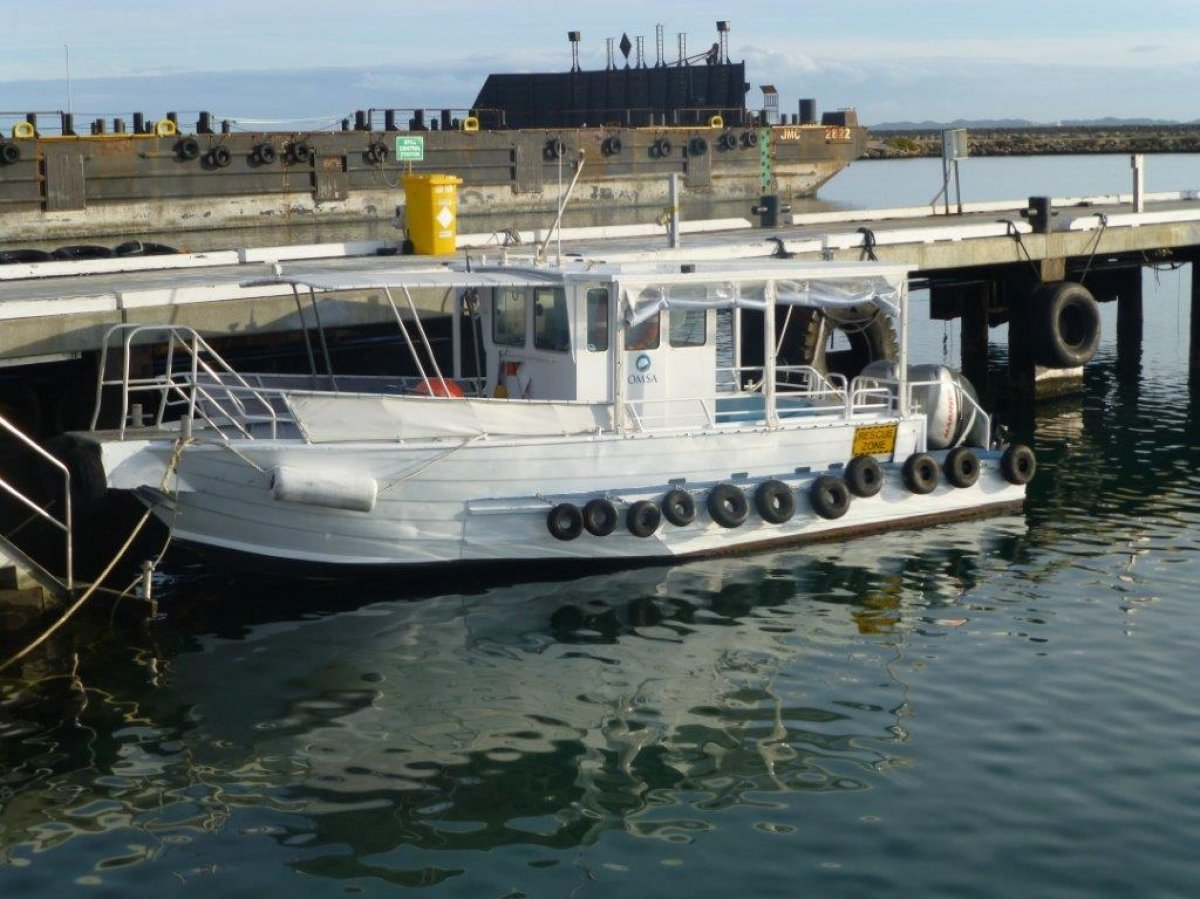 7.6m Charter Work Boat