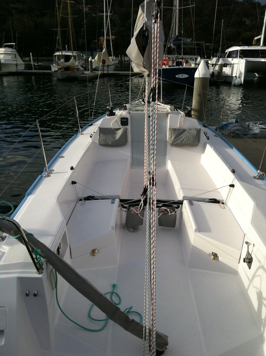 Catalina 275 Sport:Super easy to sail