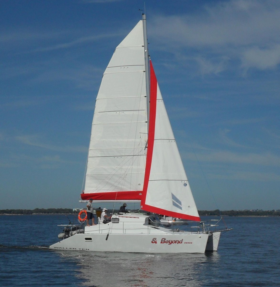 Waller Catamaran Ten Reduced for immidate sale