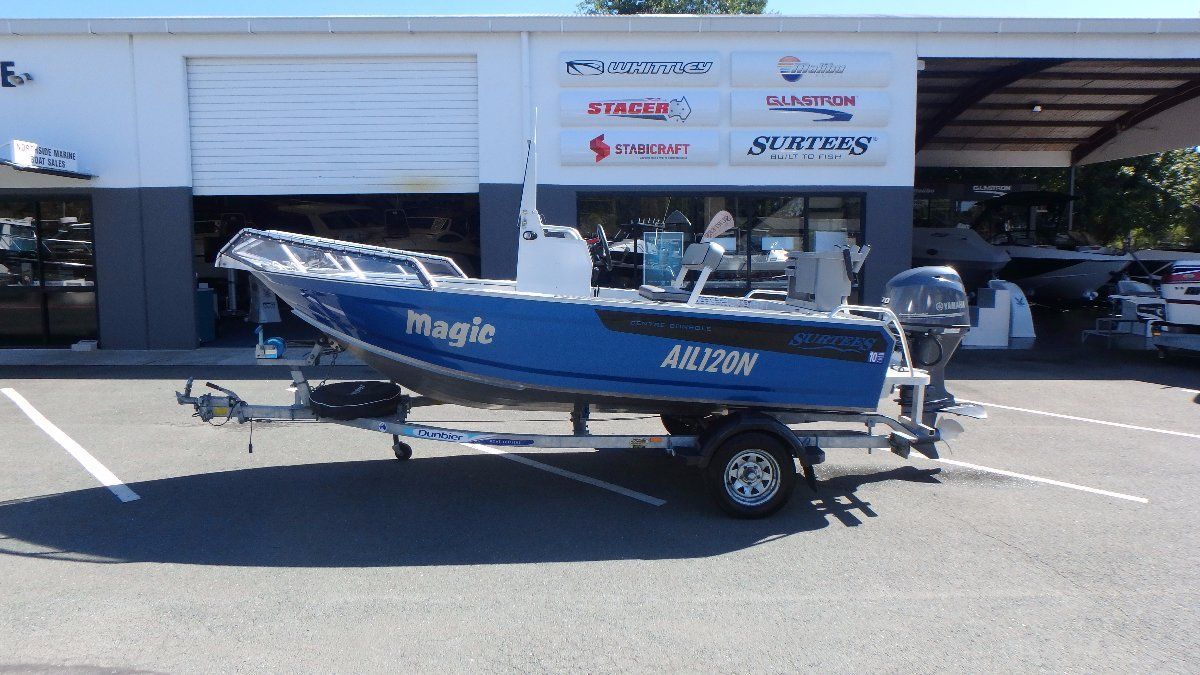 Surtees 4.85 Workmate Centre Console + Yamaha 70hp 4-Stroke