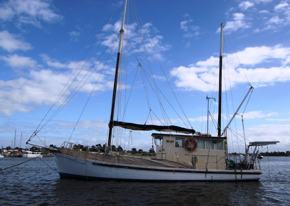 Converted Fishing Trawler