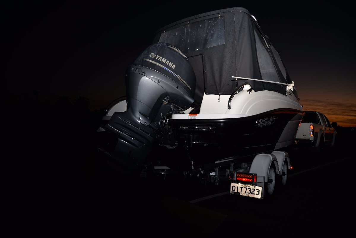 Whittley CR 2080 OB + Yamaha F115XB 115hp Four Stroke
