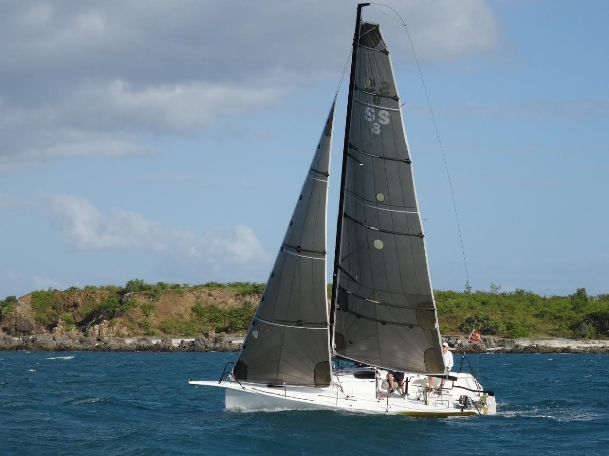 Rogers Canting Keel 8m