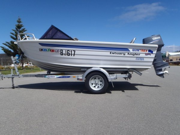 Quintrex 420 Estuary Angler RUNABOUT, POPULAR MODEL,