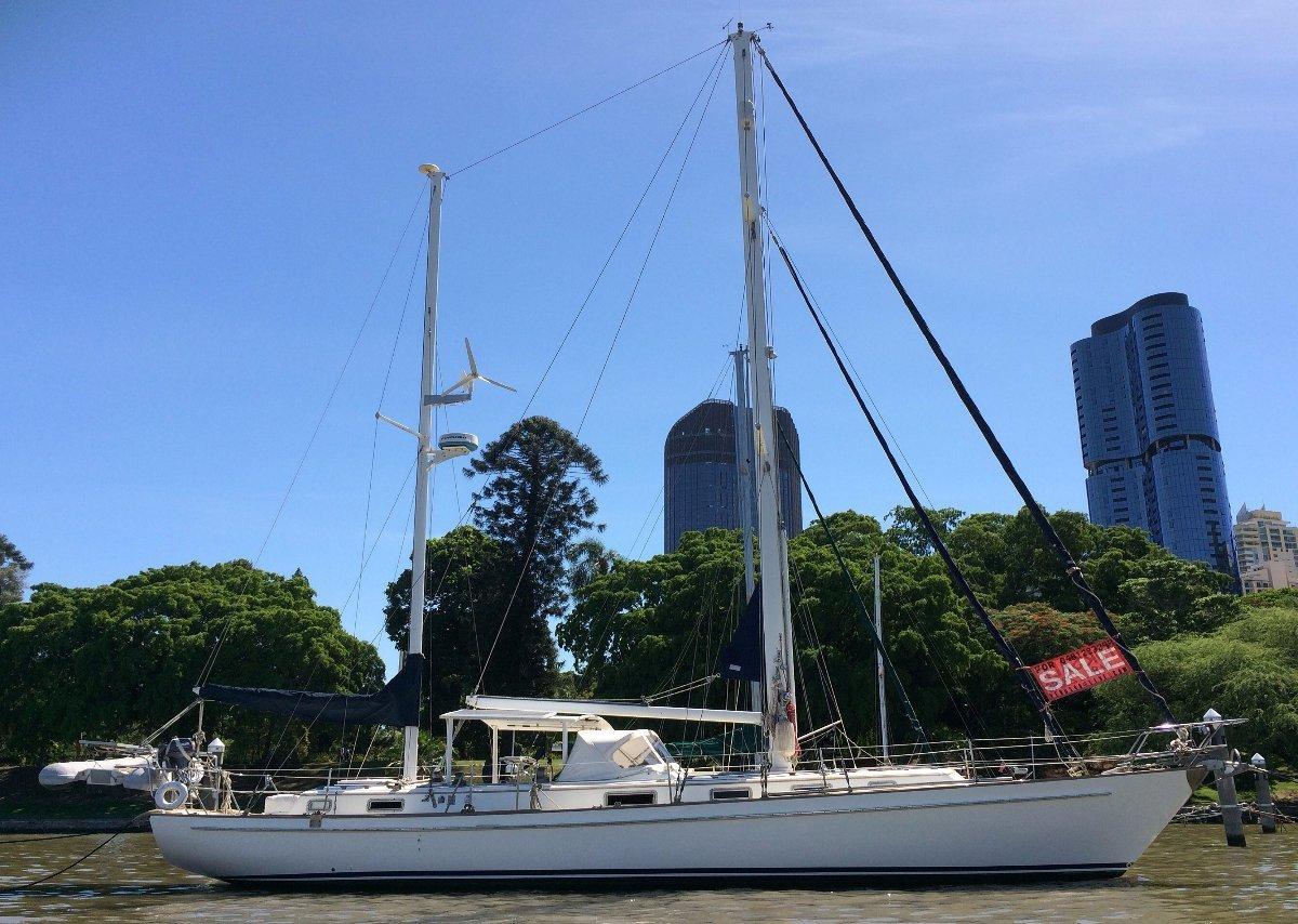 Salthouse Brothers NZ - Venus 46 Bluewater Cruiser Ketch:Sur L\'Eau