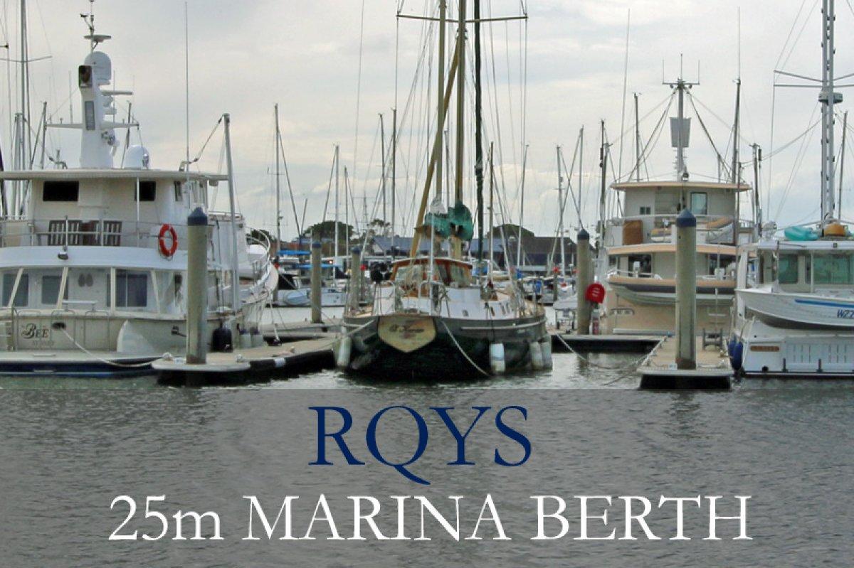 25m Marina Berth RQYS