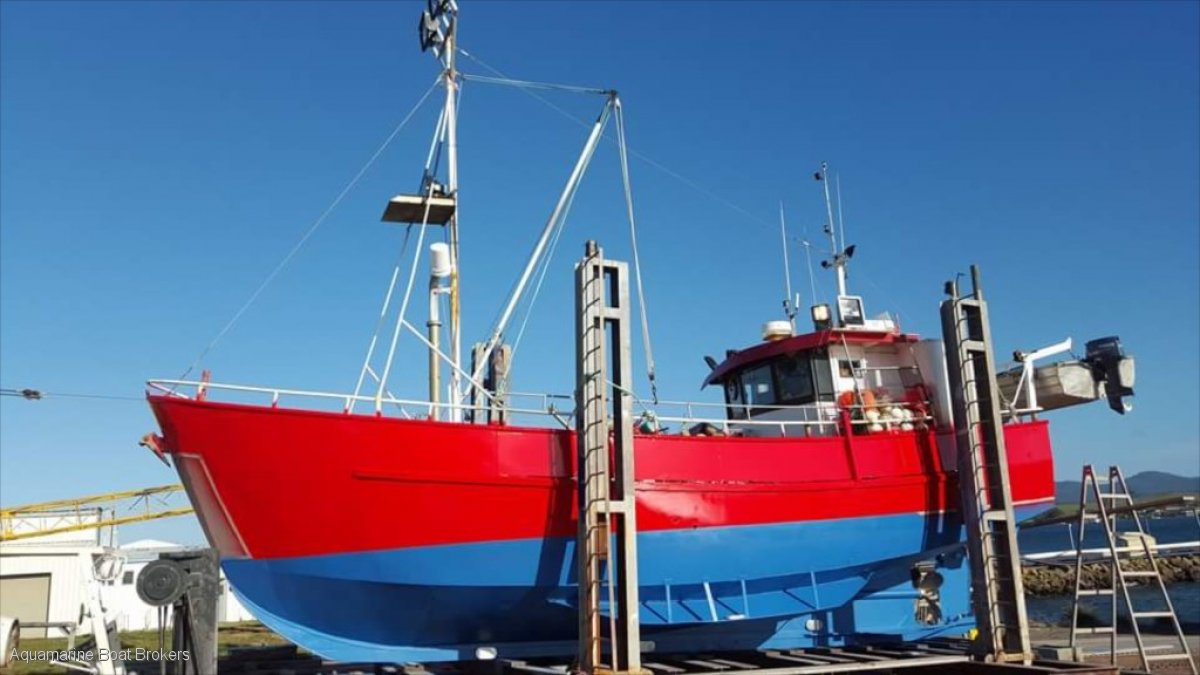 Steel Aft Wheelhouse Cray/Fishing Vessel
