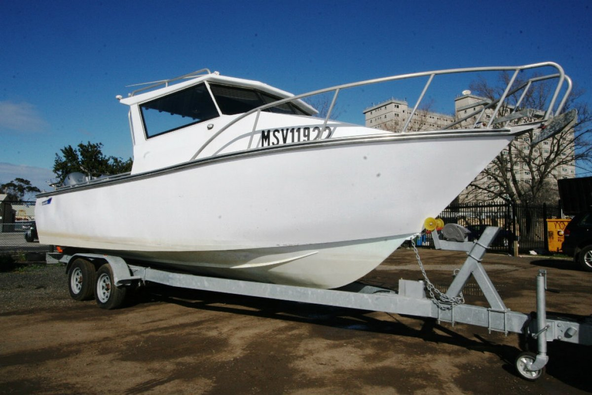 Seatech 7.49 Hardtop Commercial Fishing: Commercial Vessel ...