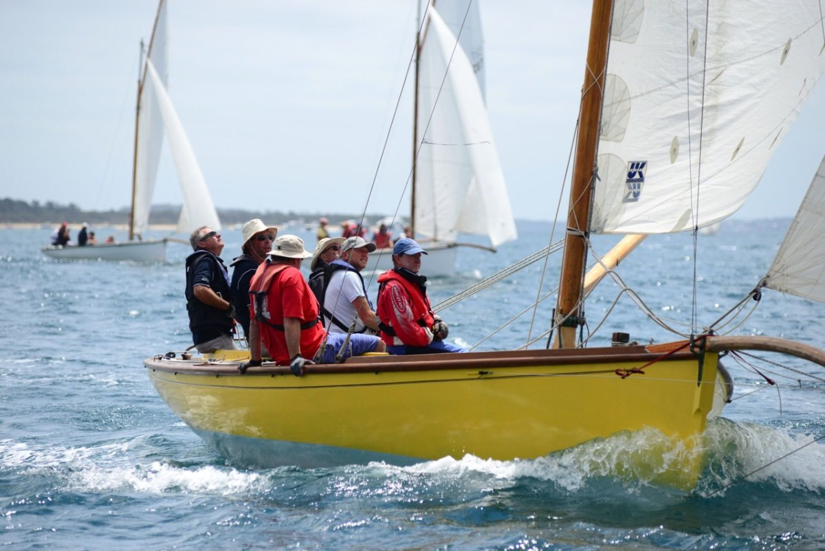 """Couta Boat 26 26'6"""" hull length with a 7'4"""" bowsprit"""